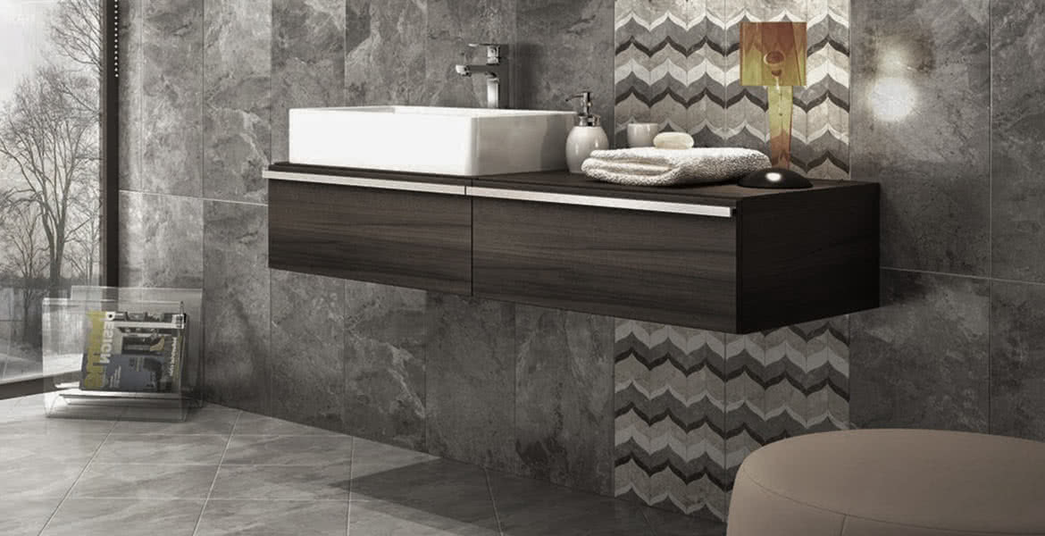 Large format porcelain tiles Perth
