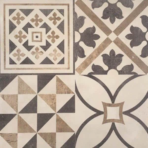 Moroccan 600 x 600mm Ceramic Tile
